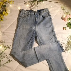 High Rise Light Wash PacSun Skinny Jeans